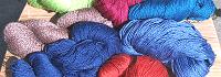 Sommer-Sockenwolle Vierfachzwirn, neuseel. Merino, Seide, Bambus