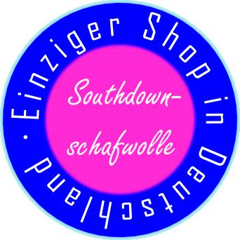Einziger Shop in Deutschland für Southdownschafwolle